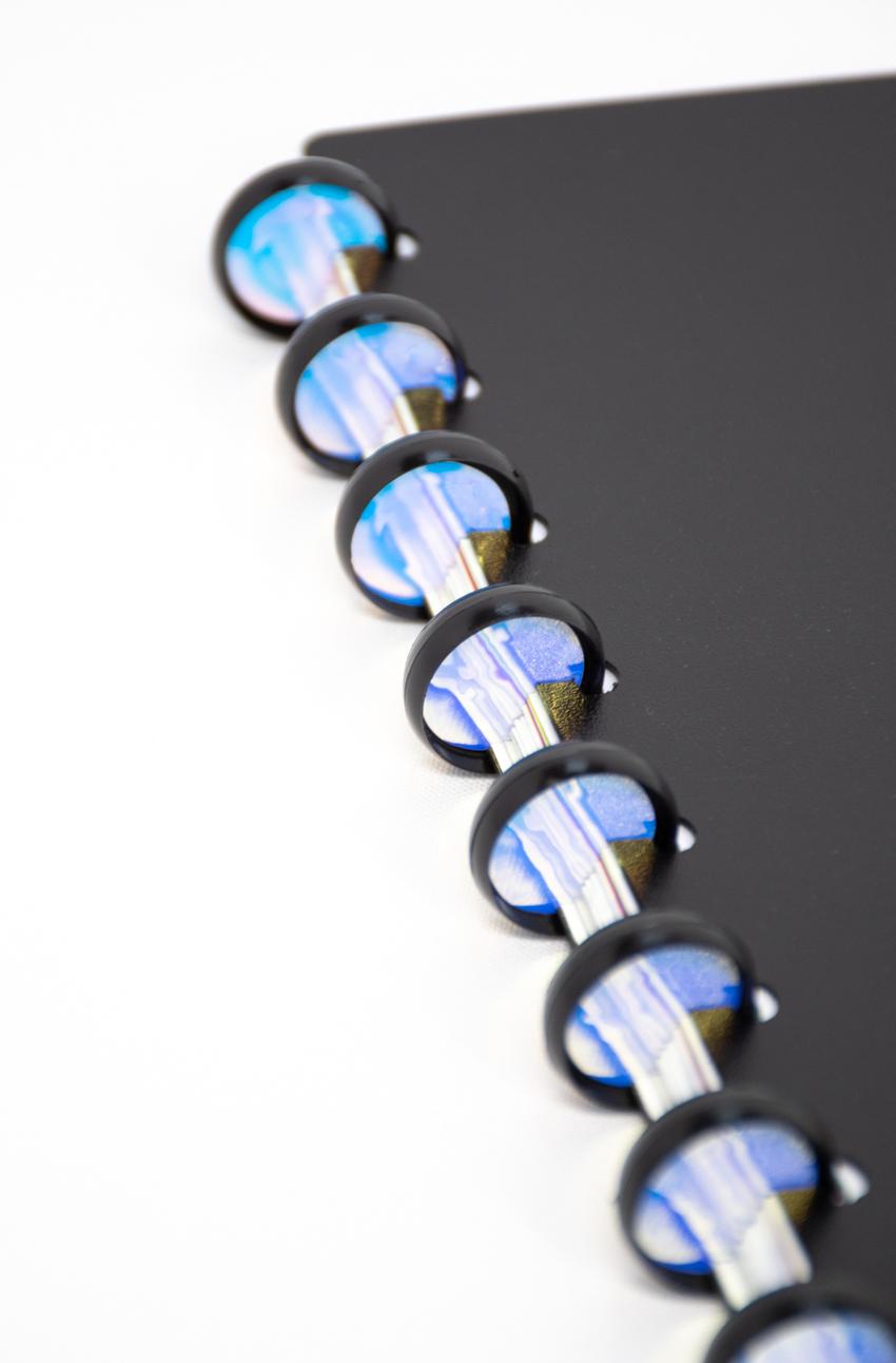 Spiegelsticker für die Ringbindung des wiederverwendbaren Asoki Planers