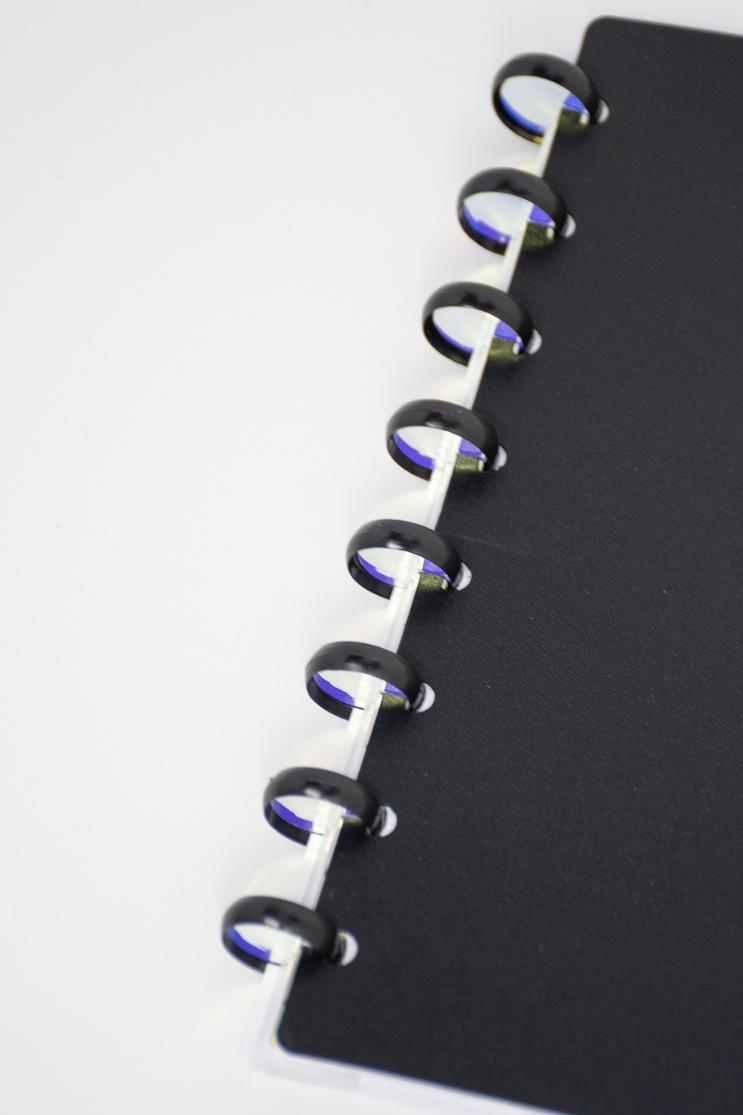 Spiegelsticker für die Ringe der Bindung des Asoki Planers