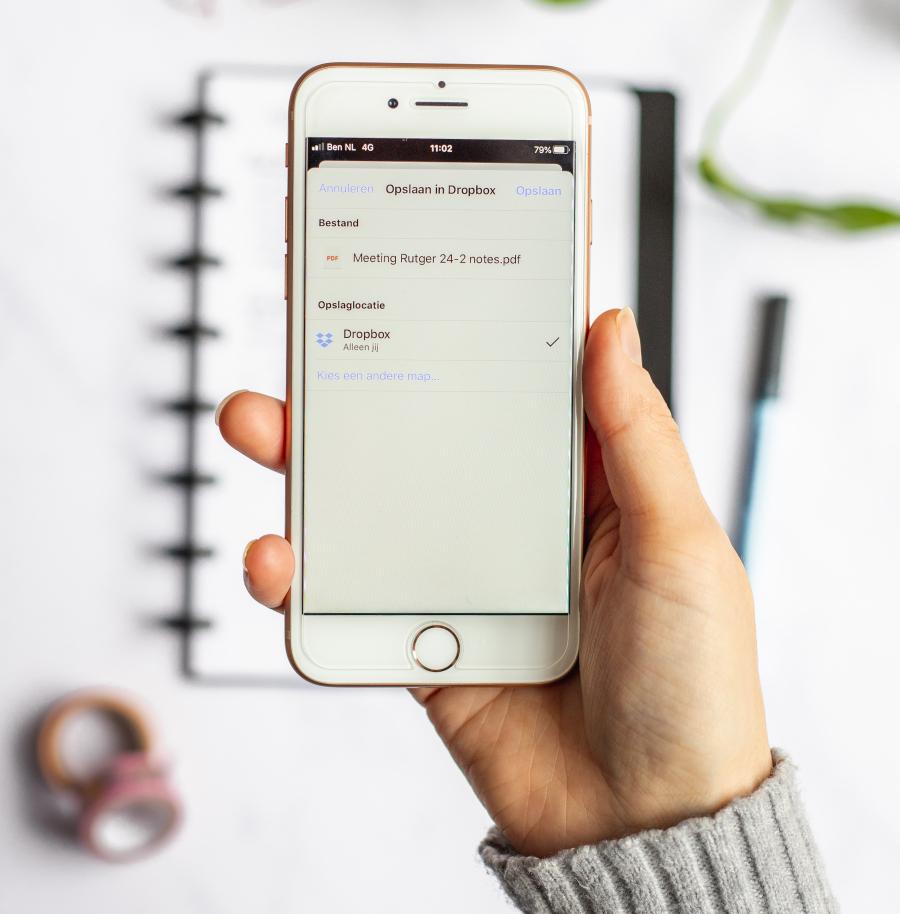 Scan app radierbares Notizbuch