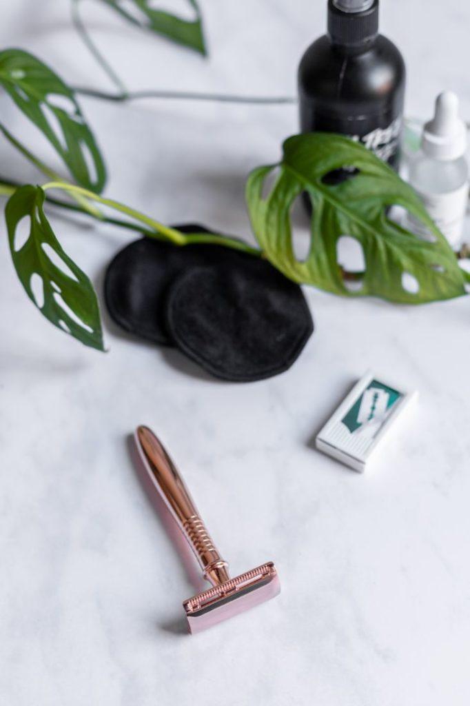 Zero Waste Rasierhobel für eine Hautirritationen-freie Rasur