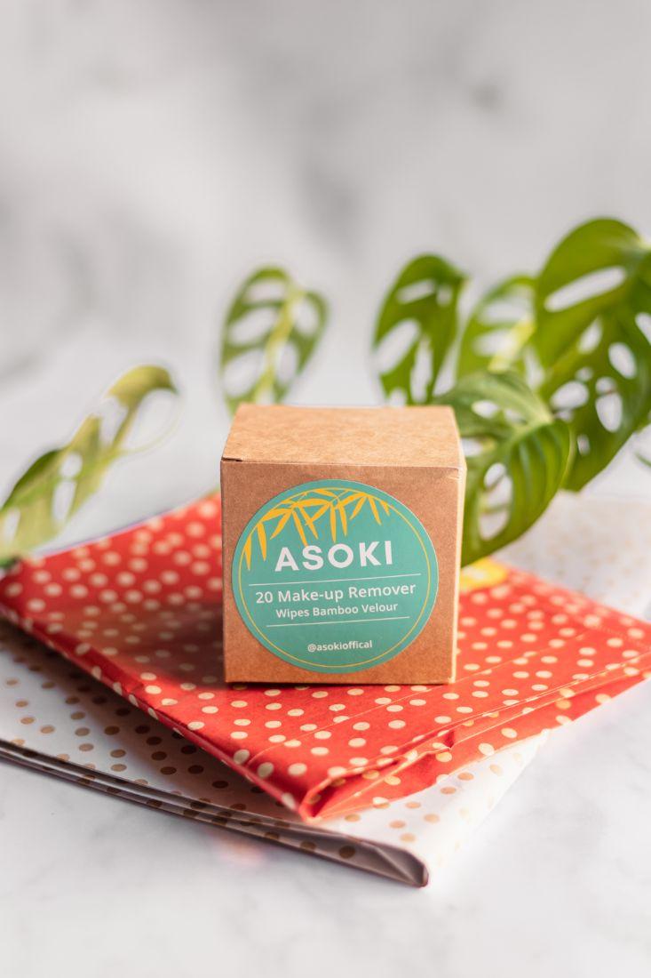Pappbox mit Zero Waste Wattepads aus Bambus