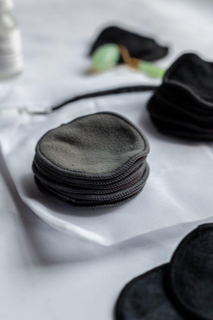 Weiche wiederverwendbare Wattepads für die Gesichtsreinigung