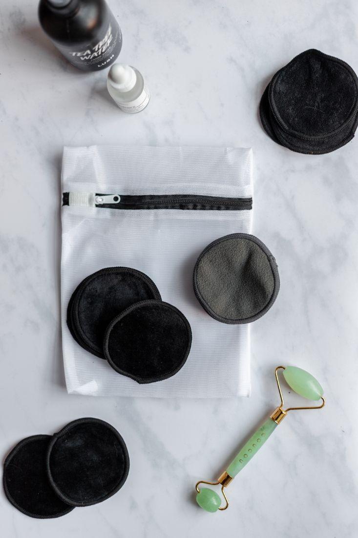 Wiederverwendbare Pads für die Make-up-Entfernung