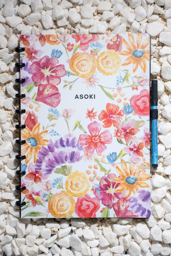 A4 wiederverwendbares notizbuch blanko