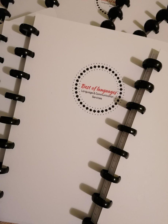Wiederverwendbares Notizbuch personalisierbar