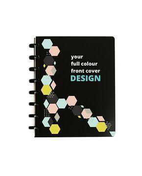 Asoki Planer für Unternehmen mit individuellem, farbigen Cover-Druck und wiederverwendbaren Seiten