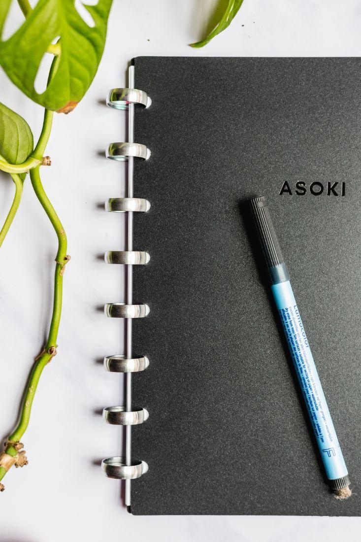 Löschbarer Planer mit abwischbarem Stift