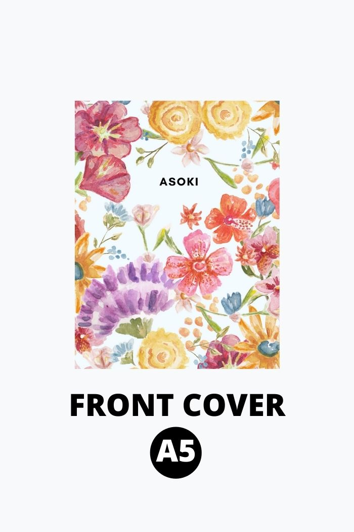 A5 Frontcover Asoki Planner