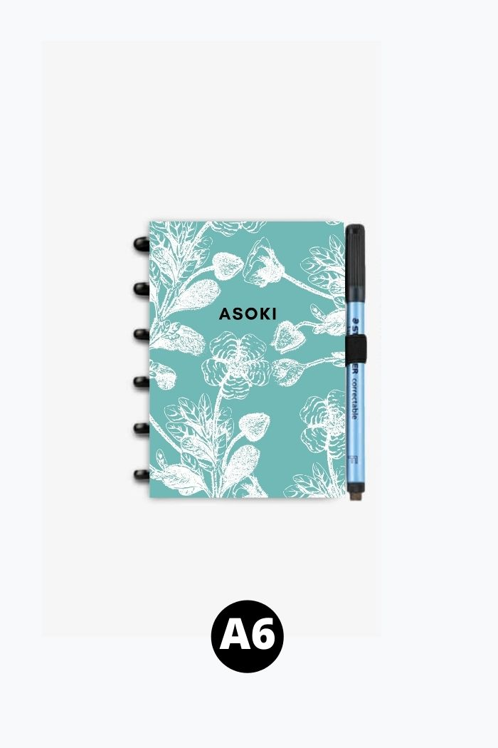 A6 Wiederverwendbares Notizbuch
