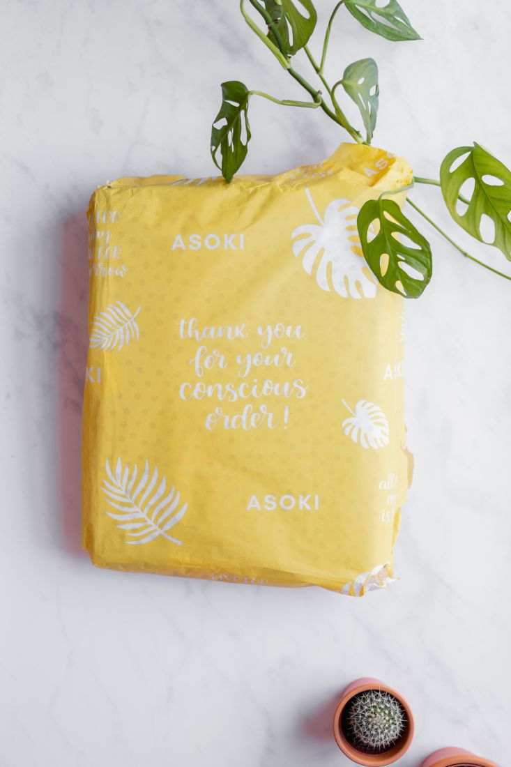 Seidenpapier Geschenkverpackung